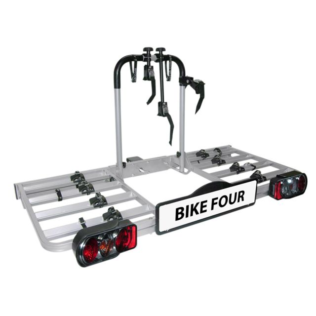 Eufab Porte Vélos Plateforme 4 Vélos Bike Four D Pas Cher Achat