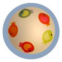 Niermann Standby - 684 Couvrir Le Plat Les Petits Poissons 15 W E27 230 V Multicolore