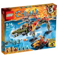 Lego - Legends of CHIMA - Playthèmes - Le sauvetage du Roi Crominus - 70227