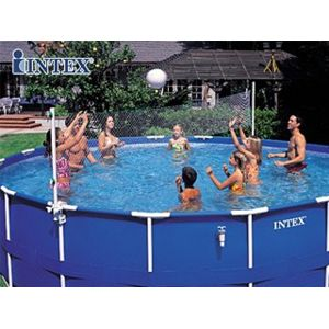 intex vigipiscine set jeu d 39 eau sport avec filet de volley et panier de basket pour piscine. Black Bedroom Furniture Sets. Home Design Ideas