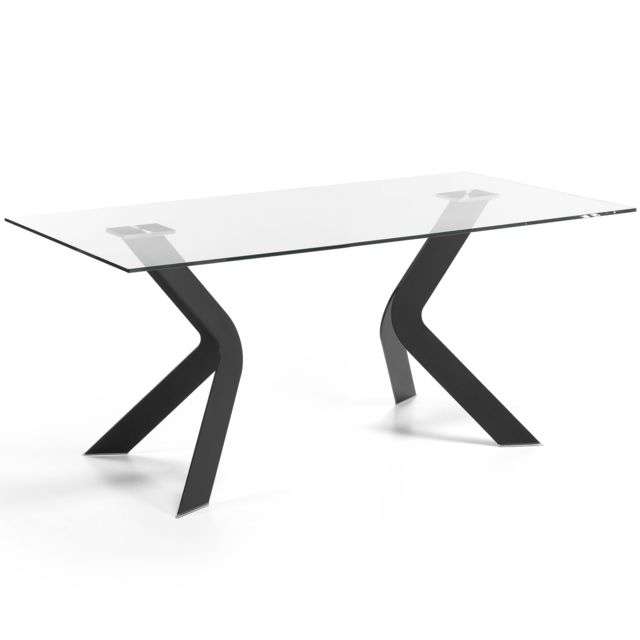 Kavehome Table Westport 150x90 cm, noir