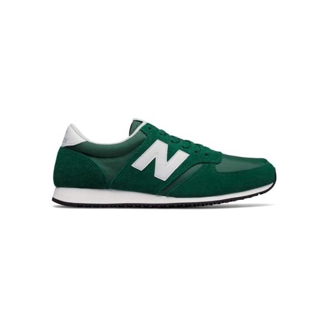 new balance gris noir vert