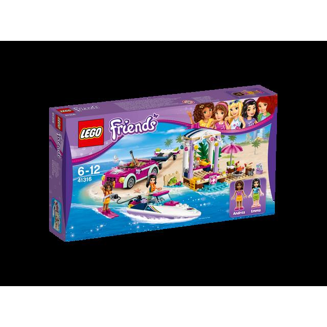 Lego - Friends - Le transporteur de hors-bord d'Andréa - 41316