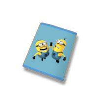 Les Minions - Plaid polaire 110X140 cm 100% polyester