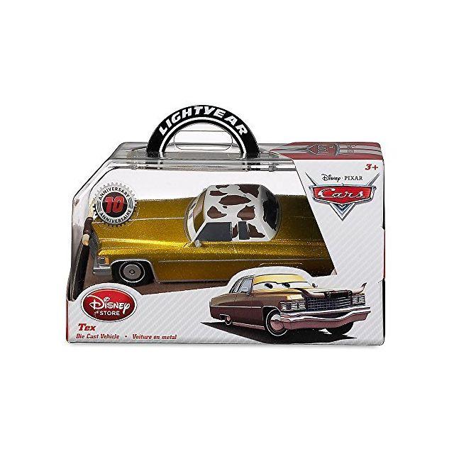 Cars Tex Disney Pixar Diecast Toy Collector Vehicle Die-Cast 143 Scale Movie Merchandise