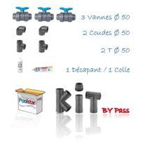 Poolex - Kit By Pass pour Pompe à chaleur diam 50