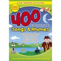 E1 Entertainment - 400 Favourite Songs And Rhymes IMPORT Anglais, IMPORT Coffret De 4 Dvd - Edition simple