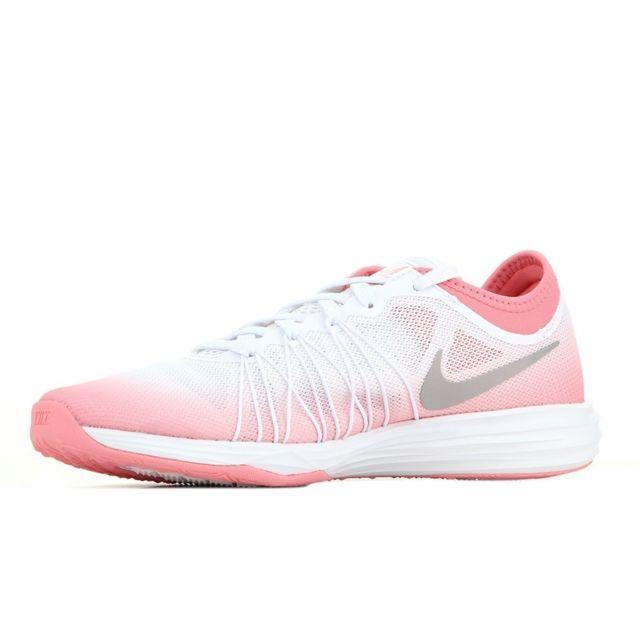 Nike Dual Fusion Tr Hit Prm Rose pas cher Achat Vente