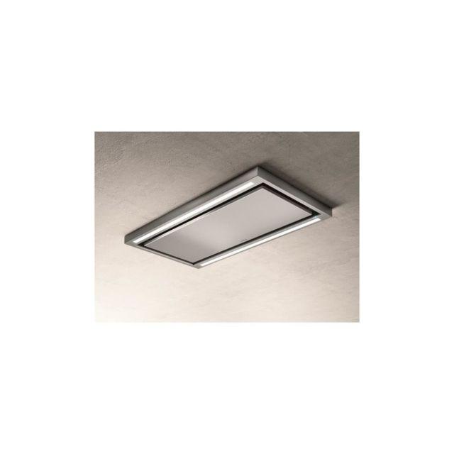 Elica Hotte de plafond Prf0142094 Cloud seven Ix / A / 90 - 760 m3 air / h max - 3 vitesses - L 90 cm