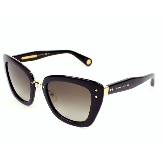 Marc Jacobs - Mj 506 S Onqha Noir - Or - Lunettes de soleil - pas ... 83d21674a97a