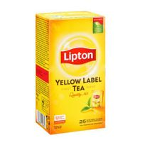 Lipton - Thé noir Yellow - Boîte de 25 sachets