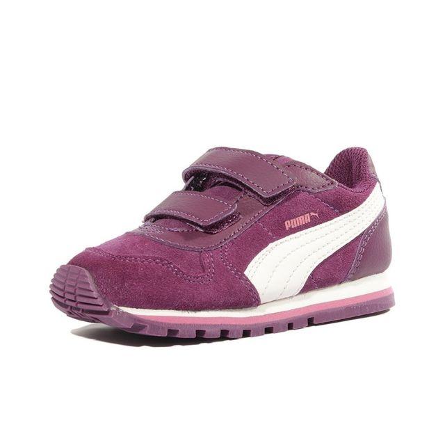 Puma Chaussures Infinity Street Runner Violet Bébé Fille