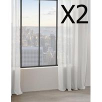 blanche porte voilage achat blanche porte voilage pas cher rue du commerce. Black Bedroom Furniture Sets. Home Design Ideas