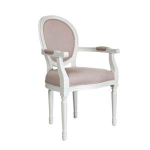 Comptoir de famille fauteuil m daillon tapiss en coton - Soldes comptoir de famille ...