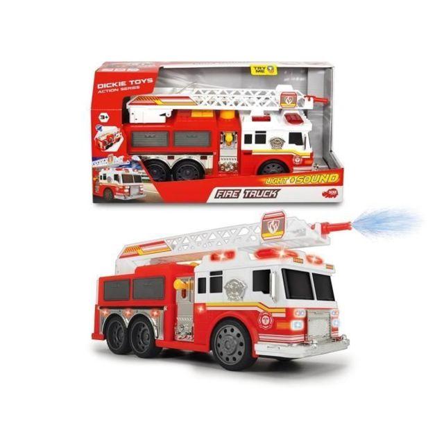 VEHICULE MINIATURE ASSEMBLE - ENGIN TERRESTRE MINIATURE ASSEMBLE DICKIE TOYS Camion Pompiers