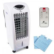 Malatec - Climatiseur portatif 3en1 portable + télécommande Blanc