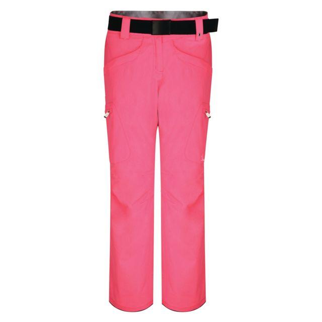 Pantalon de ski Free Scope Ii Femme FR 40, rose lumineux Utrg3792
