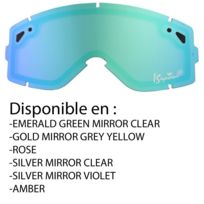 Is Eyewear - Ecran Len Staple Silver Mirror Violet