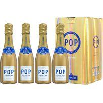 Champagne Pommery - Coffret de 4 Gold Pop Vintage 2006 4 x 20cl