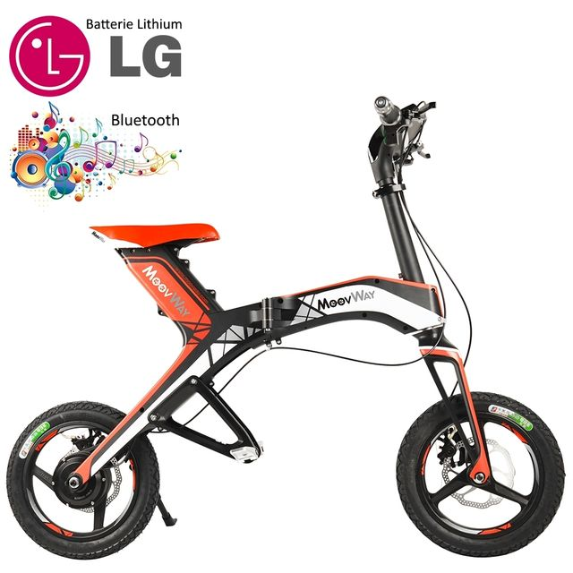 moovway mini scooter lectrique pliable batterie lithium. Black Bedroom Furniture Sets. Home Design Ideas