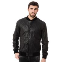 Napp Jeans - Blouson College perforated jacket black