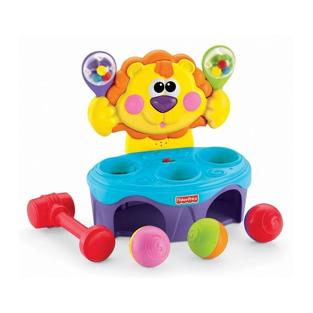 Fisher Price Lion musical à balles