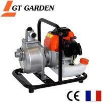 Gt Garden - Pompe à eau thermique, 52 cm3, 10 m3 par heure