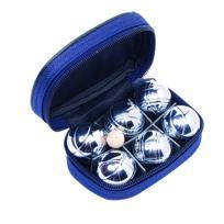 Easykado - Mini Boules De Pétanque Chromées Sacoche De 6