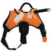 Zolux - Harnais De Traction Canisport Orange Taille L