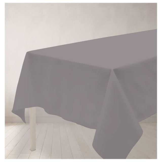 Soleil dOcre Nappe Anti-t/Ã/¢ches Rectangle 140x240 cm Alix Jaune Polyester