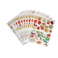 Maildor - gommette fruit+ legume - blister de 408