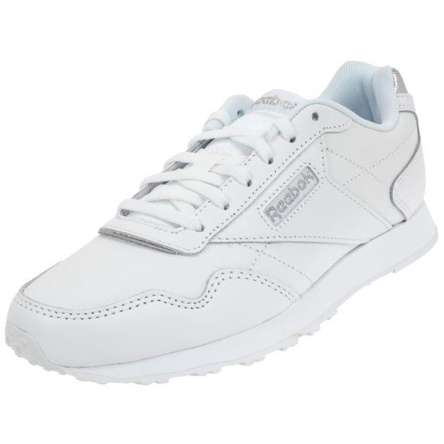 Ville Lady Mode Reebok Royal White Blanc Glide Chaussures 53627 CBeWQordxE