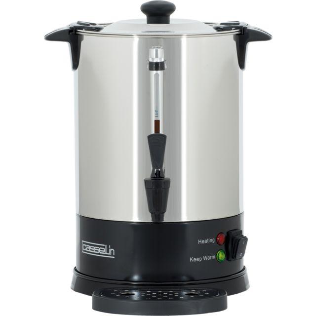 CASSELIN Percolateur à Café 48 Tasses SP Filtre Inox Permanent CPC48S