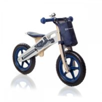 Kinderkraft - Draisienne Runner vélo en bois sans pédale écologique Bleu 2184c86d63c