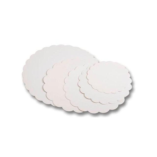 Guery Rond cartonné blanc 35 cm