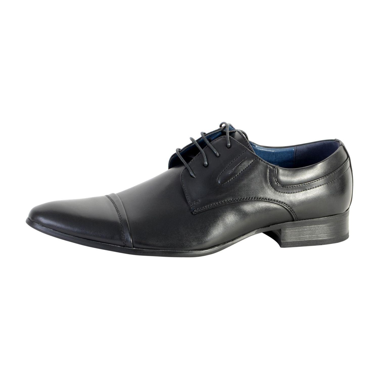 ENZO MARCONI- Chaussure Derby Wk1472 Noir