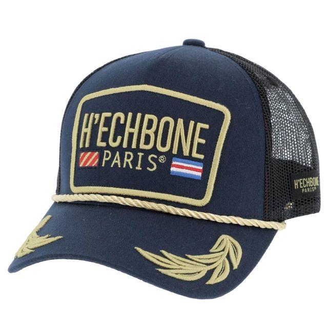 Hechbone Paris - Casquette H echbone Capt7 navy cap Bleu 17992 ... a25ffe7a8b9