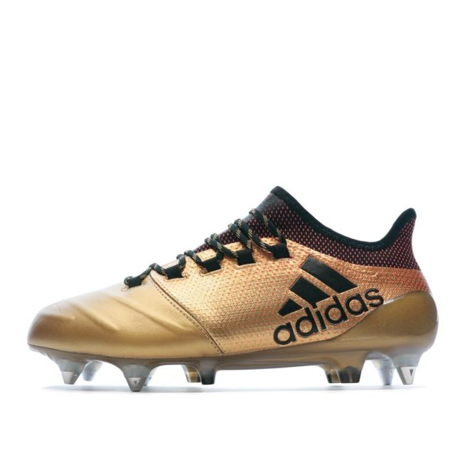 Adidas X 17.1 Sg Leather Chaussures Football or