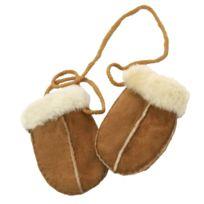 1ac5f1e4b0c Generic - Eastern Counties Leather - Moufles en peau de mouton - Bébé Taille  unique
