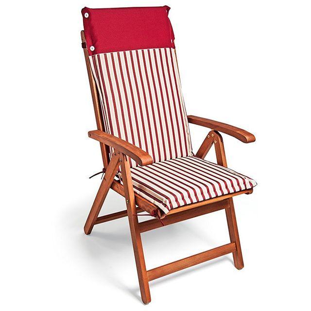 Rocambolesk Coussin De Chaise Superbe Pas Rouge 6x Blanc Neuf rdChxsQt