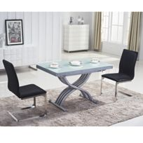 table ronde relevable achat table ronde relevable pas cher rue du commerce. Black Bedroom Furniture Sets. Home Design Ideas