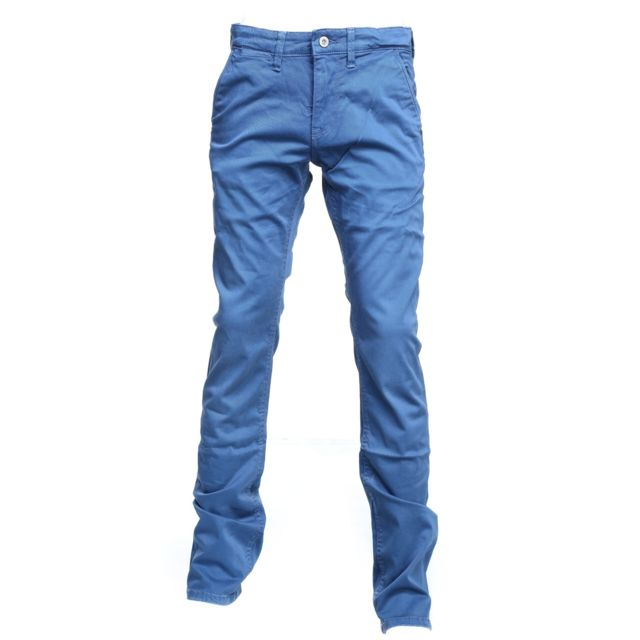 6878f33caf886 Pepe Jeans - Blueburn Chino 548 Blueprint Bleu - 14 - pas cher Achat   Vente  Jean enfant - RueDuCommerce