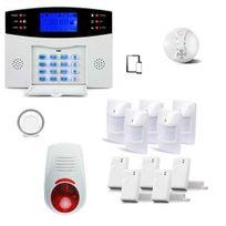 SecuriteGOODdeal - Alarme Maison Sans fil Gsm , 99 zones Xxl Box
