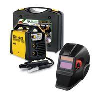 Deca - Poste a souder Inverter 150 A Sil 415 avec cagoule Lcd Din11 et 20 électrodes