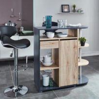 0159996928f71e table de bar 100 cm - Achat table de bar 100 cm pas cher - Rue du ...