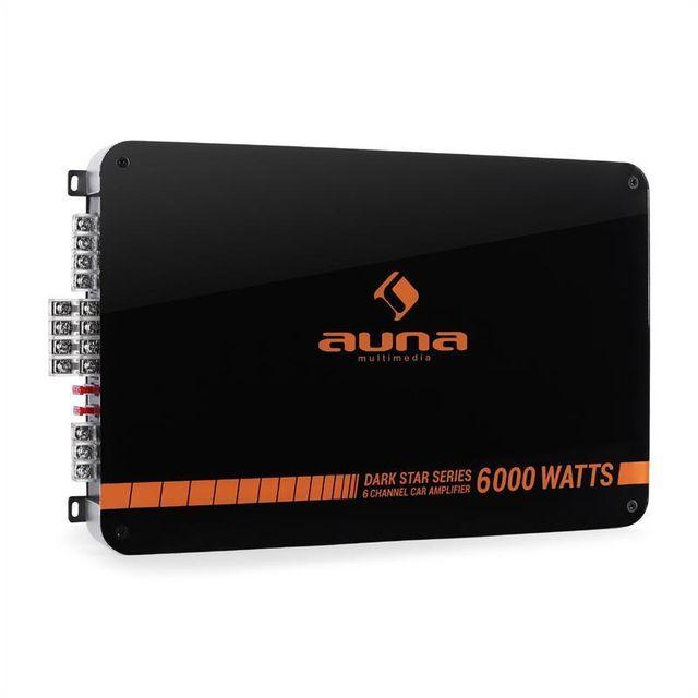 AUNA Dark Star 6000 Ampli auto 6 canaux 600W RMS