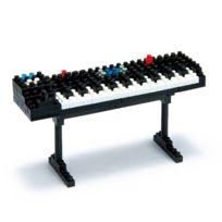 Nanoblock - Nbc-038 Instrument De Musique - Synthesizer - Le Synthetiseur Piano