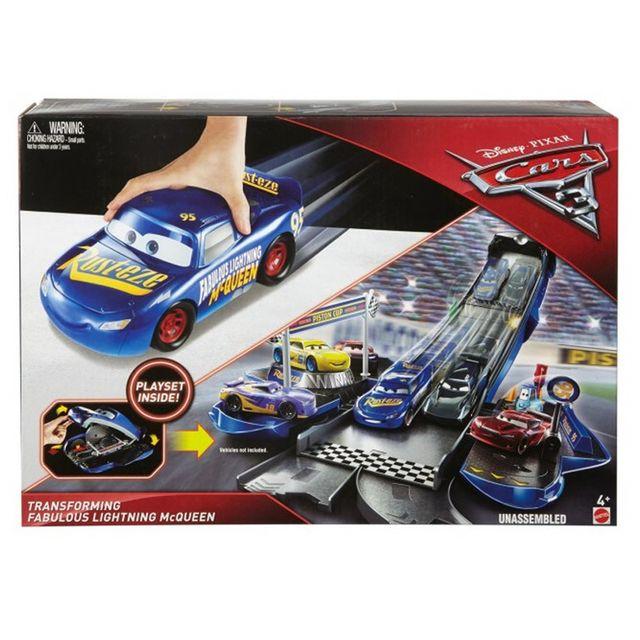 Mattel Cars 3 : Fabuleux Flash McQueen Transformation