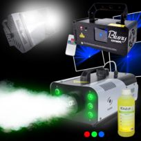 Ghost - Pack Machine à fumée 1200LED Strobe 1000W Laser