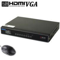 Wewoo - Boitier 8CH 1080P H.264 Dvr réseau Hdd numérique enregistreur vidéo, prend en charge Vga et sortie Hdmi